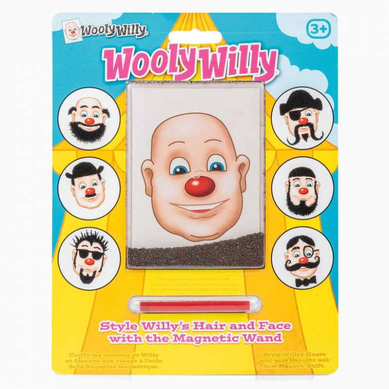 Wooly Willy Iron Filing Magnet Game 5+