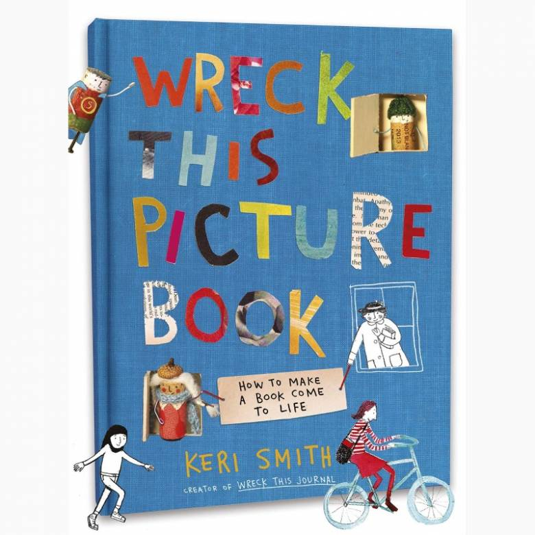 Wreck This Picture Book By Keri Smith - Hardback Book