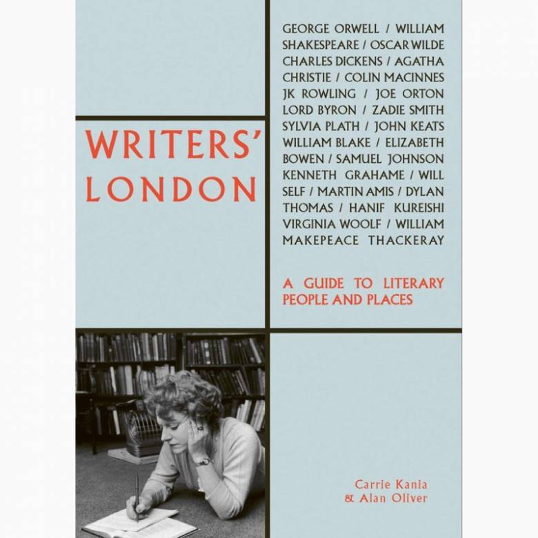 Writers' London - Paperback Book
