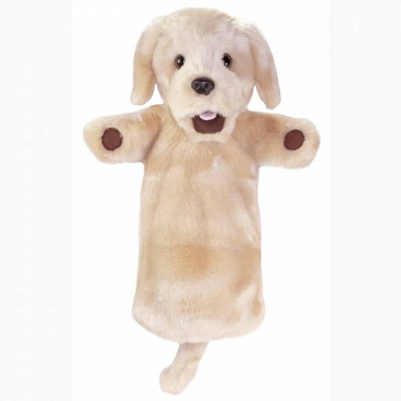 Yellow Labrador Dog - Long Sleeved Glove Puppet