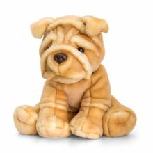 Sharpei Dog Soft Toy 35cm 0+