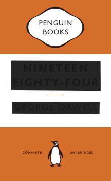 1984 By George Orwell Paperback Book