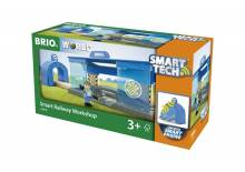 Smart Tech Railway Workshop BRIO® Wooden Railway Age 3+