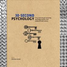 30 Second Psychology Hardback Book
