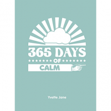 365 Days Of Calm Hardback Book