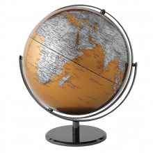 Gold Globe Double Axis 43cm