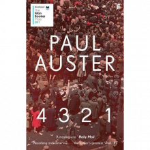 4321 By Paul Auster Paperback Book