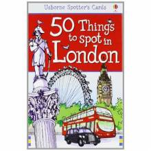 50 Things To Spot In London Usborne Spotter's Cards