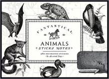 Fantastical Animal Sticky Notes - 480 Decorated Stickers