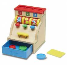 Sort & Swipe Cash Register By Melissa & Doug