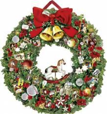 Christmassy Wreath Advent Calendar