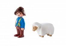 Playmobil 123 Shepherd with Sheep 6974