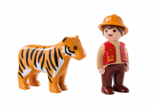 Playmobil 123 Gamekeeper with Tiger 6976
