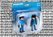 Policeman And Burglar Duo Pack Playmobil 9218
