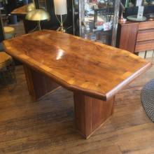 1930s Art Deco Walnut Centre Table