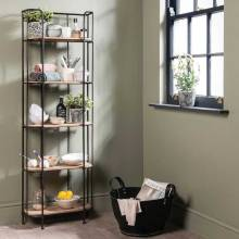 Bookshelf - Factory Style Shelving Unit