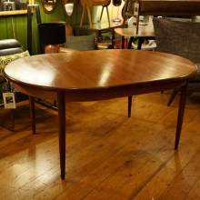 G Plan Fresco Teak Oval Extending Dining Table