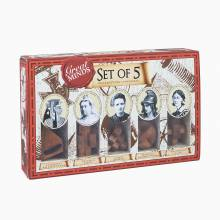 Great Minds Women's Set Of 5 Puzzles