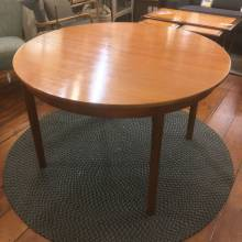 1970s McIntosh Teak Circular Dining Table