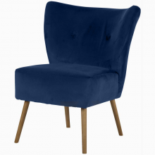 Monaco Occasional Armchair - Brussels Deep Blue
