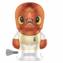 ADMIRAL ACKBAR Star Wars Robot Bebot Wind Up Tin Toy