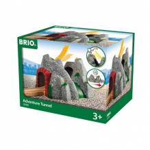 Adventure Tunnel Wooden  BRIO® Wooden Railway Age 3+