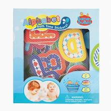 Alphabet Bath Time Stickers Bath Toy 3+