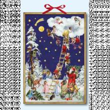 Angels On Christmas Eve Advent Calendar
