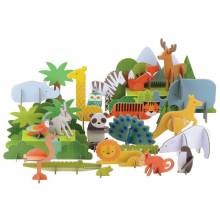 Animals Of The World Deluxe Pop-Out Set 4+