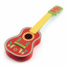 Animambo Decorated Wooden Guitar