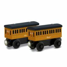 Annie & Clarabel Wooden Thomas The Tank Engine Rail Train