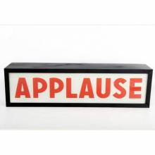 Applause Illuminated Sign Wall Mount Box Sign