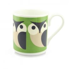 Apple Owl Orla Kiely Bone China Mug