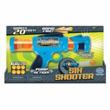 Six Shooter Atomic Power Popper Gun