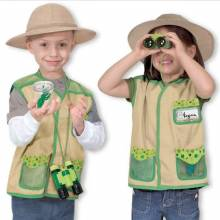 O/STOCK Backyard Explorer Fancy Dress Role Play Costume Set