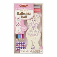 Ballerina Doll Craft Kit By Melissa & Doug 4Yr+