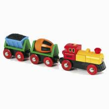 BRIO® Battery Operated Action Train Wooden Railway