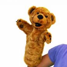 BEAR Long Sleeved Glove Puppet