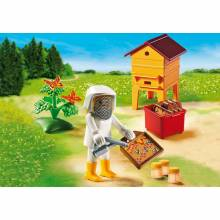Bee Keeper With Honey Playmobil 6818