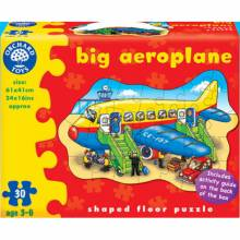 Big Aeroplane Jigsaw Puzzle By Orchard Toys 3-6yrs