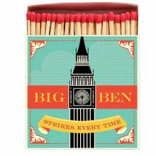 Box Of Safety Matches ( Square ) BIG BEN