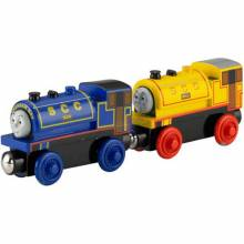 Bill & Ben Wooden Thomas The Tank Engine Rail Train