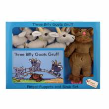 Three Billy Goats Gruff Storytime Puppet Set