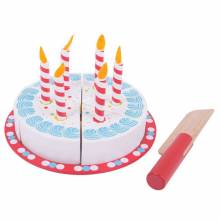 Wooden Slicing Birthday Cake 1yr+
