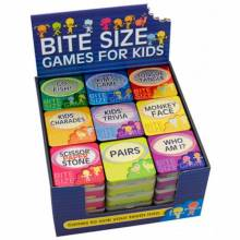 Bite Size Games For Kids In Square Tin VARIOUS