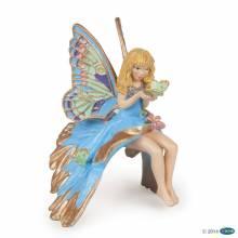 BLUE ELF CHILD Papo Fairy Figure