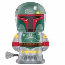 BOBA FETT Star Wars Robot Bebot Wind Up Tin Toy