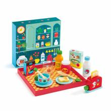Breakfast Time Role Play Set By Djeco 3+