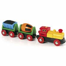 Battery Operated Action Train BRIO® Wooden Railway