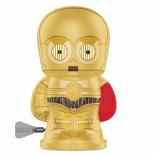 C3PO Star Wars Robot Bebot Wind Up Tin Toy